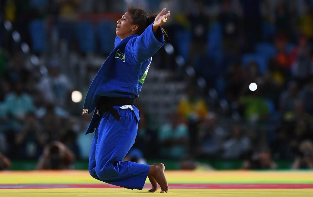 Rafaela Silva conquistou o primeiro ouro do Brasil no Judô