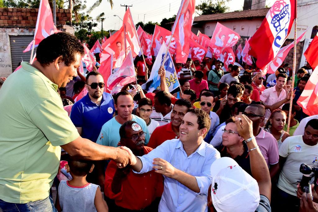 Edivaldo fez campanha no São raimundo