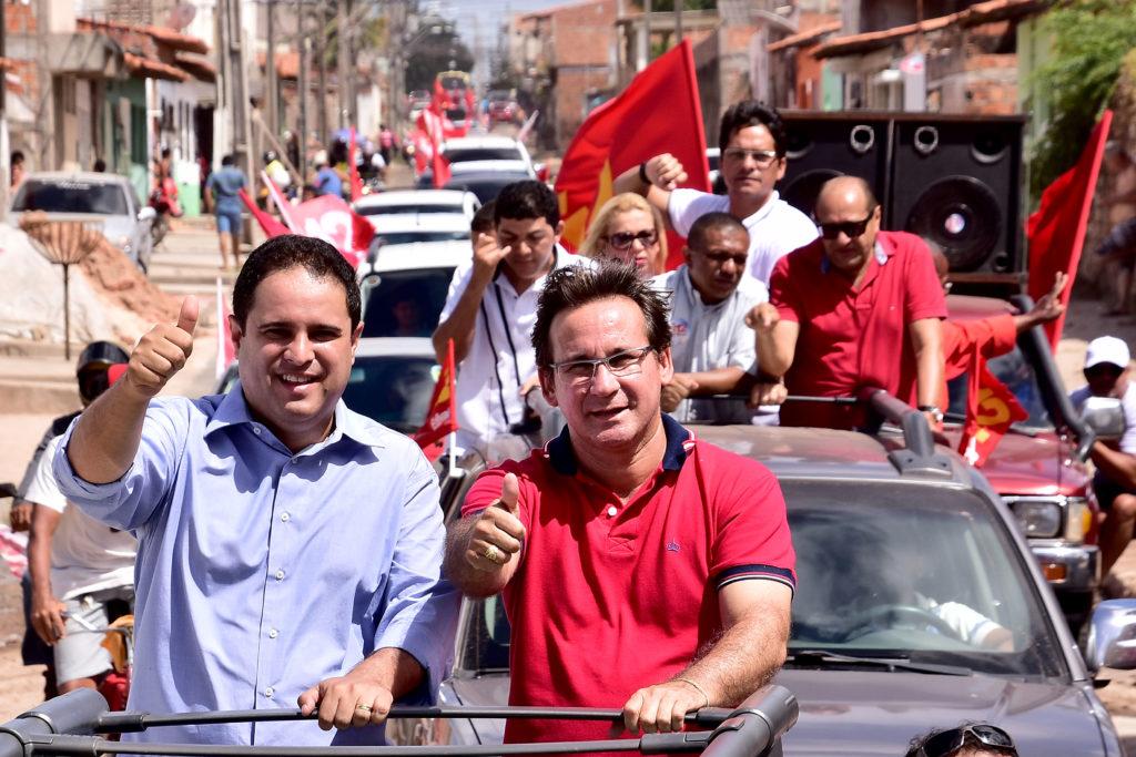 Edivaldo Jr realizou grande carreata, passando por bairros como São Cristóvão e Vila Riod