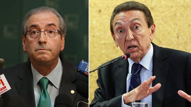Lobão fará parte da defesa de Cunha