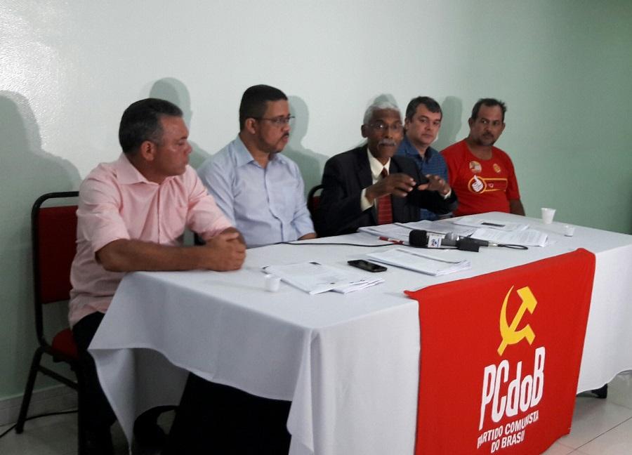 Domingos Dutra concedeu entrevista coletiva
