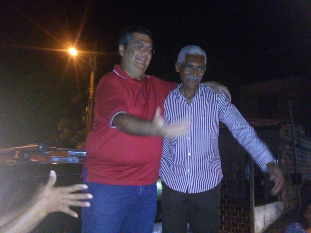 Flávio Dino apoia Domingos Dutra em Paço do Lumiar