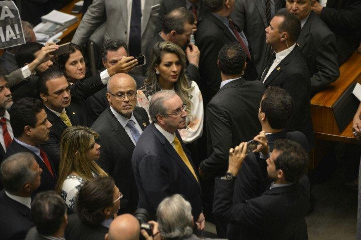 Eduardo Cunha só teve dez votos