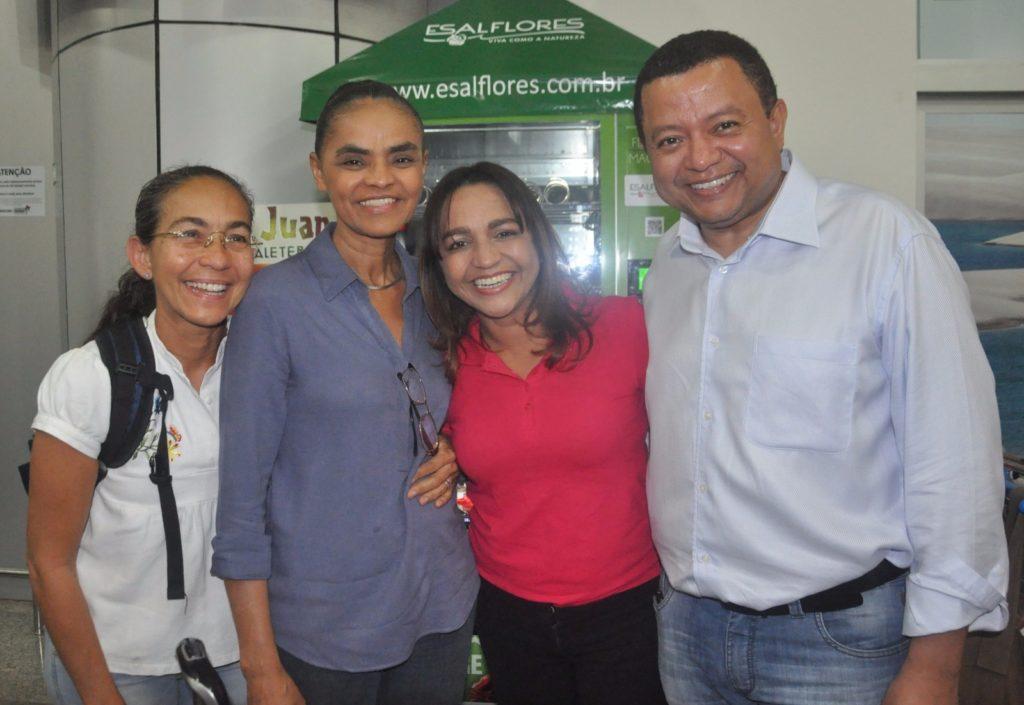 Eliziane tenta se recuperar com reforço de  Marina Silva e Eloísa Helena