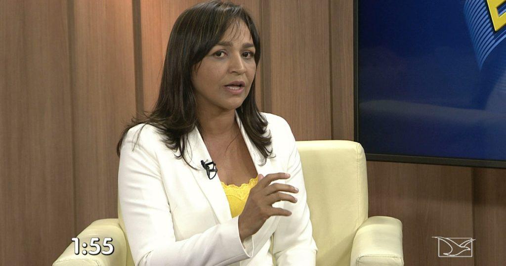 Eliziane Gama abriu entrevistas da TV Mirante