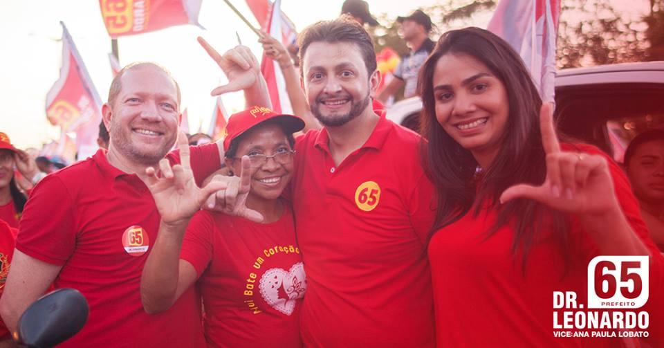 Leonardo Sá e Ana Paula intensificam campanha em Pinheiro
