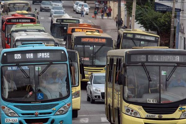 ônibus vão andar sob escolta em São Luís