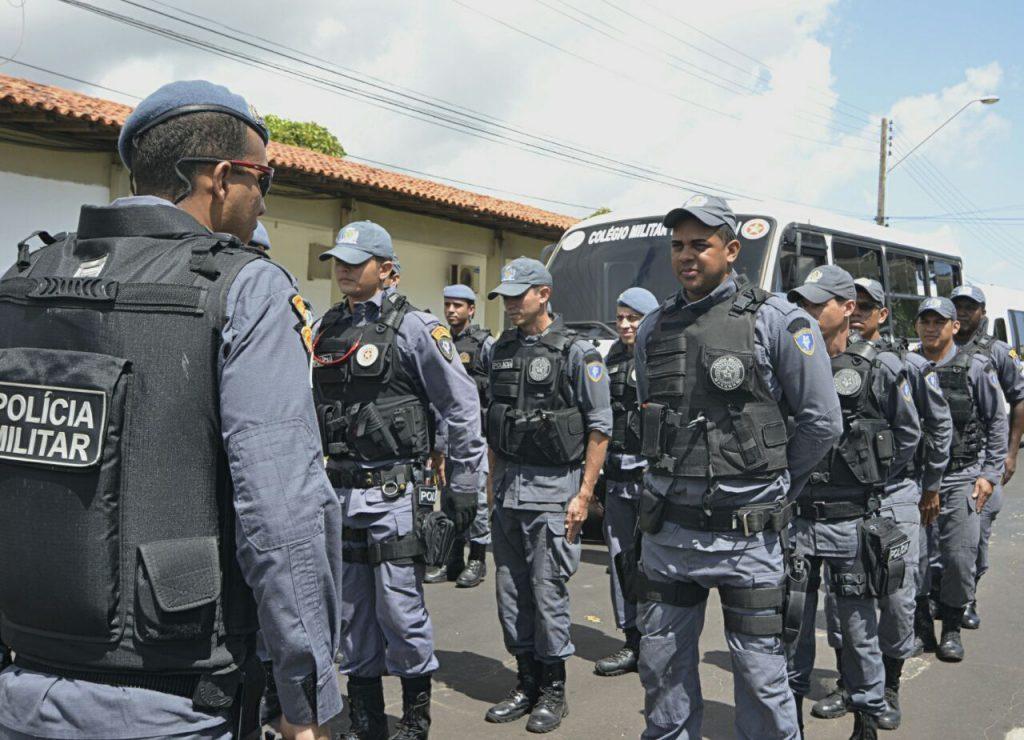 Policiais já estão nas ruas desde quinta-feira