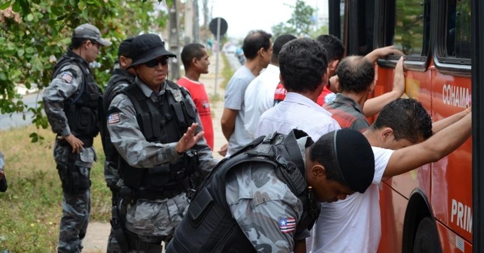 Policiamento ostensivo reforça Segurança em pontos de ônibus