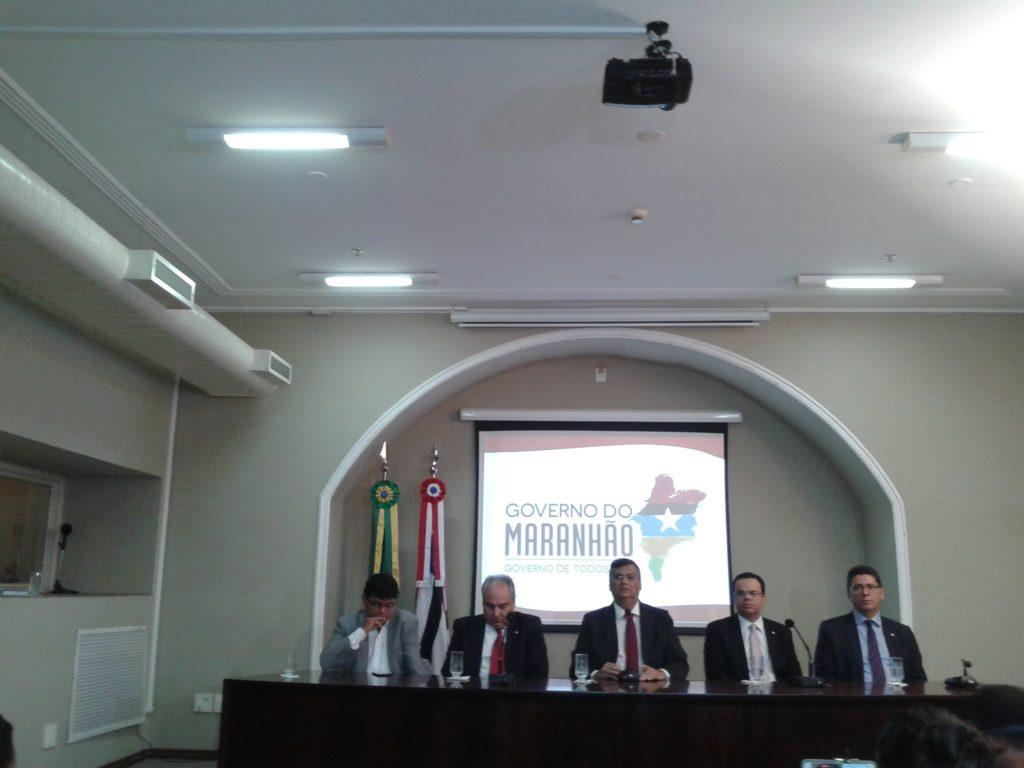 Governador concedeu entrevista coletiva sobre as eleições