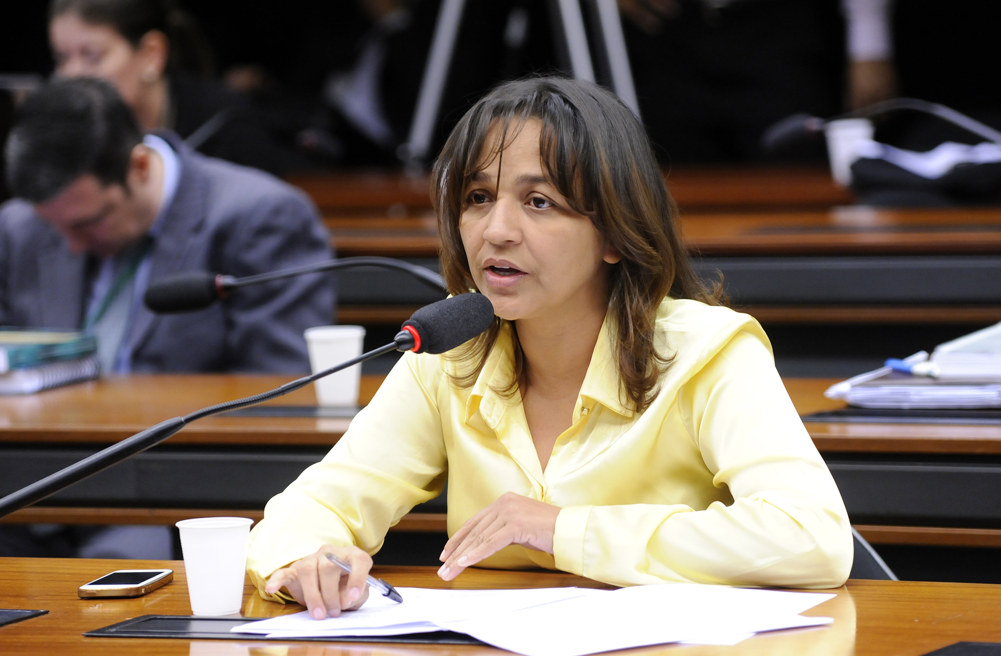 Eliziane Gama cobrou da Câmara para que se vote tal matéria de forma nominal