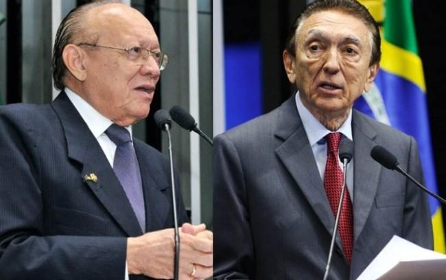 João Alberto e Lobão estão entre os senadores que recebem supersalários com proventos de ex-governadores