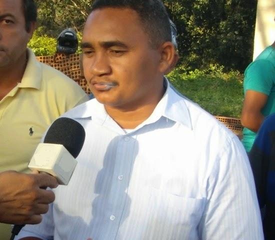 O prefeito de São Francisco do Maranhão, Valdivino Alves Nepomuceno